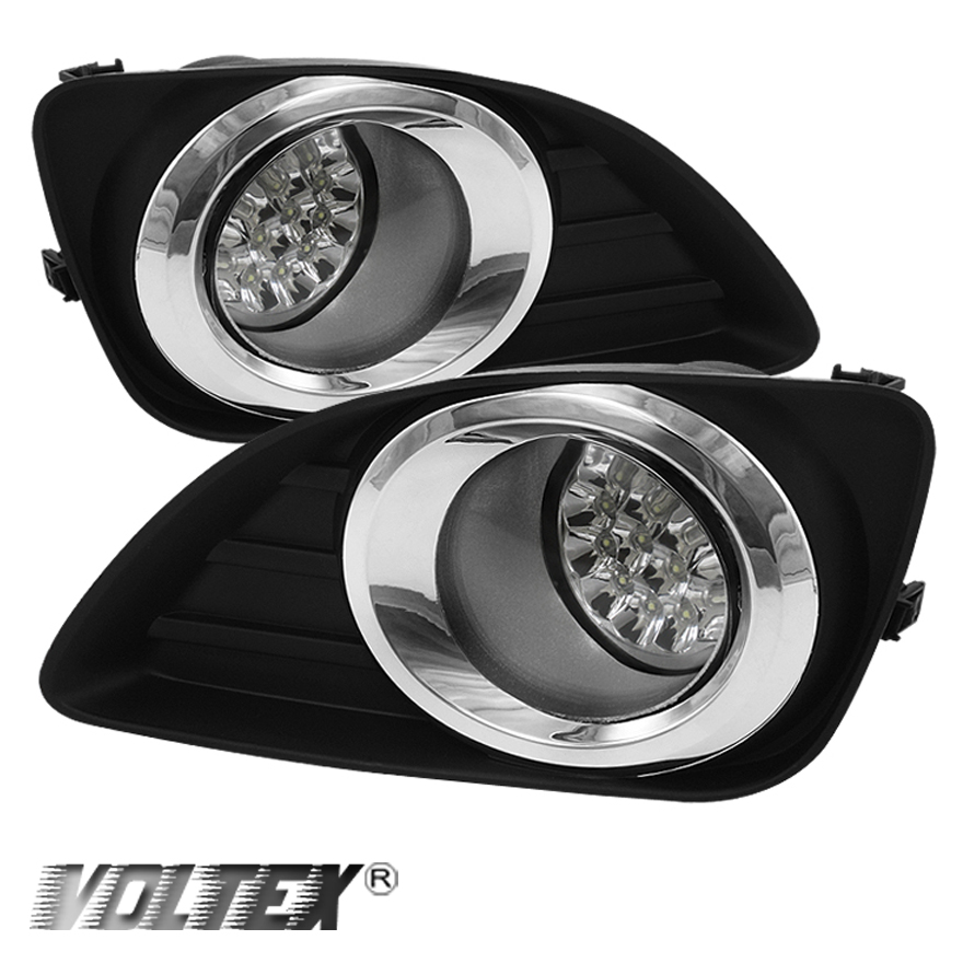 2010 2011 toyota camry led fog lights lightbar light bar lamp clear ebay. Black Bedroom Furniture Sets. Home Design Ideas