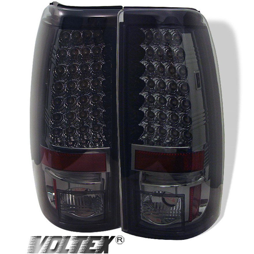 2004 2006 gmc sierra 1500 2500 3500 led tail light bar. Black Bedroom Furniture Sets. Home Design Ideas