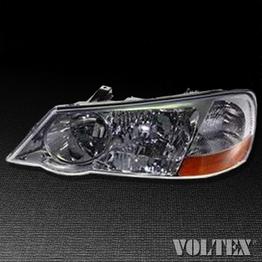 2002-2003 Acura TL Headlight Lamp Clear Lens Halogen